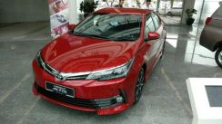 Toyota altis 2018 oem bodykit with paint n spoiler