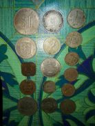 OLD COINS and OLD PAPER MONEY