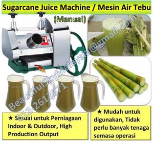 Sugarcane Machine Manual Hand Sugar Cane Mesin Air
