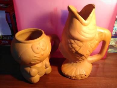 Clay Decoratives Mugs
