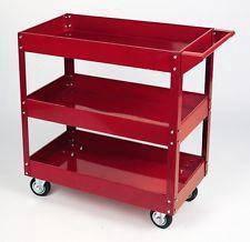 Eurox 3Layer Service Cart Tools Trolley 250kg-Heav