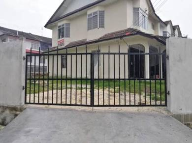 Full Loan Corner Lot 2 Storey House in Taman Muhibbah, Senai