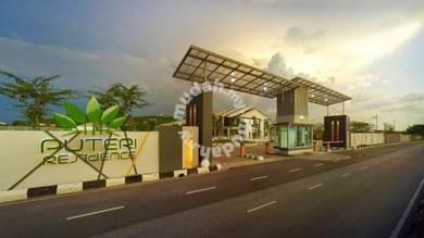 EXTRA SIDE LAND One Storey Semi D Puteri Residence Bandar Puteri Jaya