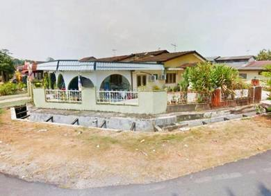 TERMURAH FREEHOLD Single Storey Taman Telok Datok Banting CORNER LOT