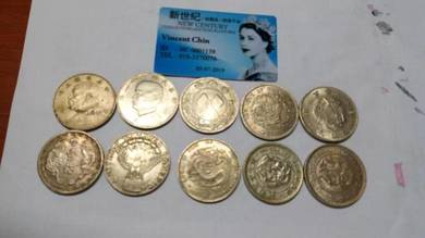 Vintage Assorted Countries Collectibles Coins