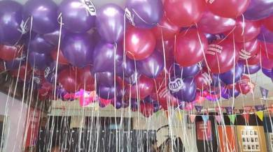 Pink Purple Balloon Deco 00145