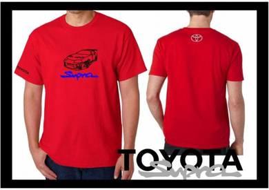 Baju T-Shirt TOYOTA SUPRA NSQ59 siap poslaju