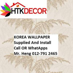 Pretty Wallcovering with Installation 3TKA