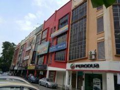 Below Market price 4 storey shop lot taman samudra batu caves
