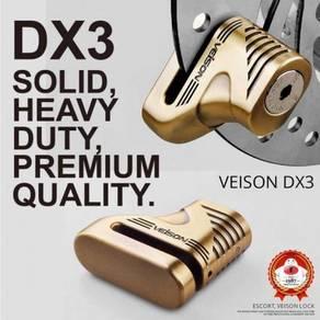 Veison dx3 brake disc motor lock 06