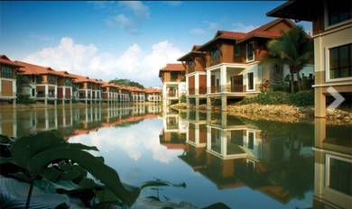 LEISURE FARM Water Village Gelang Patah Nusajaya Double Storey Terrace