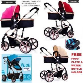 Europe Premium Highest Class Baby Stroller