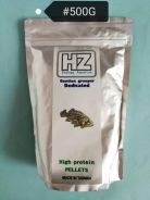 HZ Gentian Grouper Dedicated Fish Pellet 500gram