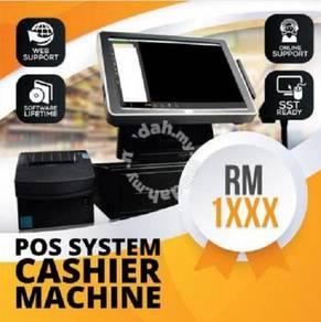 Pos System Cashier Machine Kedai Runcit & Restoran