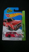 Hotwheels Datsun bluebird 510 wagon red not Tomica