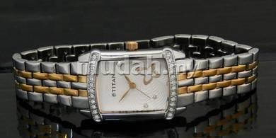 TITAN Ladies SWAROVSKI Dress Watch 9788KM02