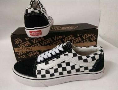 Kasut Vans Checkerboard Classic(Pre-Owned)(10/10)