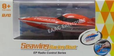 Create Toys Seawing Mini RC Boat 2.4Ghz (Red)