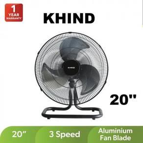 Khind 20'' Industrial Floor Fan FF2002B-New,black