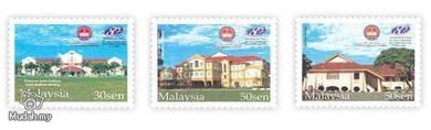 Mint Stamp 80 Years Uni Sultan Idris Malaysia 2002