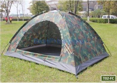 2 Persons Army Camping Outdoor Tent w Monsquito N