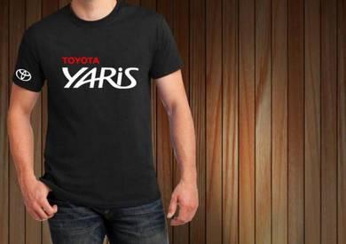 Baju T-Shirt TOYOTA YARIS NSQ65 siap poslaju