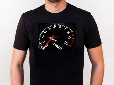 Baju T-Shirt TOYOTA TRD NSQ52 siap poslaju