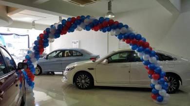 462) Arch Balloon Entrance