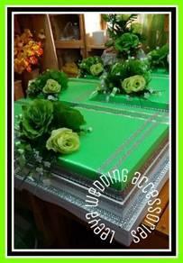 Sewa dulang hantaran (hijau)