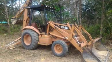 Perkhidmatan Backhoe, Excavator & Lori
