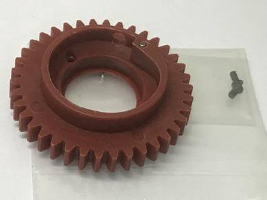 Spur Gear 38t Red For Cen Racing Rc Car