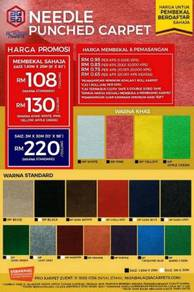 Special promo for event carpet floor grab it today