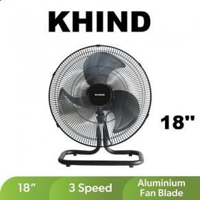 Khind 18inc Industrial Floor Fan FF1802B-New,Black