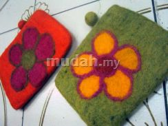 Colorful Wool Purse