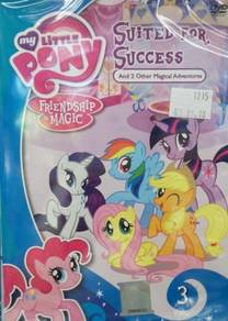 DVD MY LITTLE PONY Suited For Success