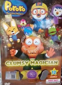DVD Pororo Clumsy Magician - Vol.12 (Season 3)