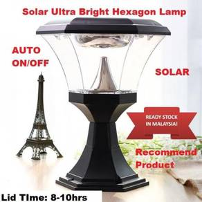 Solar Hexagon Ultra Bright Led Liight