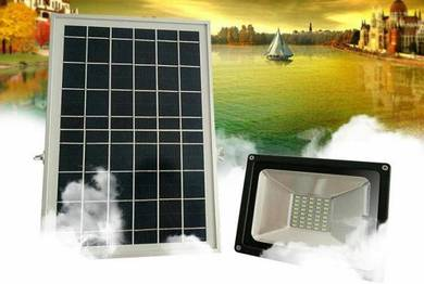 Powerful 50W Solar LED Floodlight Remote Control