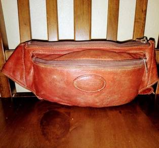 Pouch Bag Leather Porter Cortina