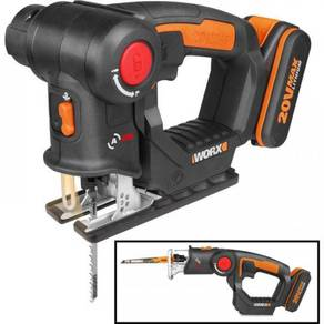 WORX WX550 Cordless Multi Purpose Saw 20v