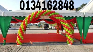 Welcome Balloon With 2 Stand 00163