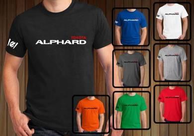 Baju T-Shirt TOYOTA ALPHARD II NSQ60 siap poslaju