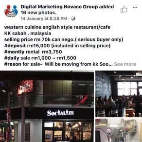 Western Restaurant for sale Metrotown KK