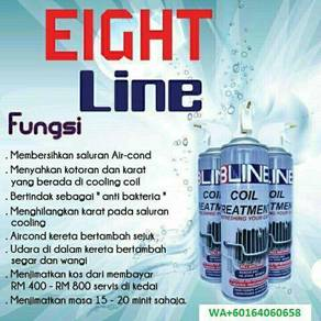 8Line accleaner