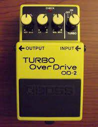 BOSS Turbo Overdrive od-2