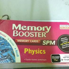Memory Booster Physics Chemistry