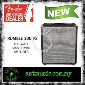 Fender Rumble 100 V3 100 watts Bass Amplifier