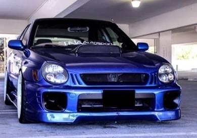 Subaru Impreza V7 GDA front lip skirting bodykit