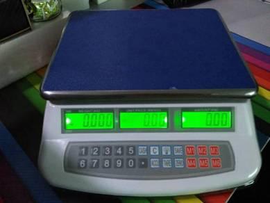 Timbang WEIGHING PRICE COMPUTING SCALE 30KG