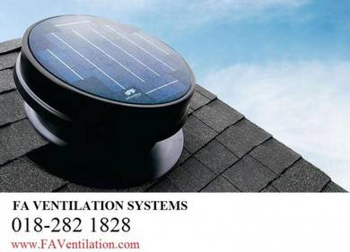KMD12X FA Solar Powered Roof Ventilator Germany